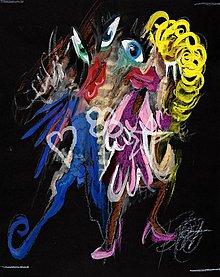 Obrazy - Tanečníci V.size S - 1305037