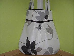 Veľké tašky - Maľované kvety - 1306579