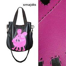 Veľké tašky - Lady of colour-Prasátko - 131096