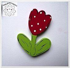 Magnetky - bodkovaný tulipánik - 1311410