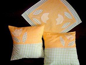 Úžitkový textil - jarné prebúdzanie obrúsok - 1317113