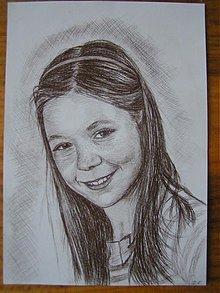 Kresby - Tánička - portrét A4 - 1317327