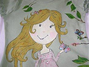 Detské oblečenie - malá víla na tričku - 1321605