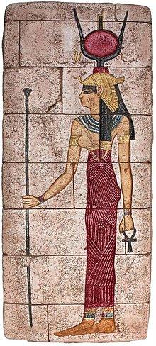 Dekorácie - E12. BOHYŇA ISIS - NÚBIJSKÝ RELIÉF - 1324387