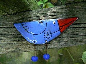 Náhrdelníky - ptáček na krk - 132449