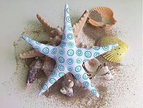 Dekorácie - morská hviezda - 1326122