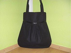 Veľké tašky - Čierna elegancia - 1328712