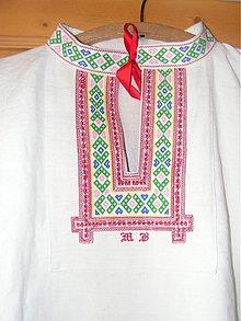 Oblečenie - Košeľa láskou vyšívaná .... - 1328999
