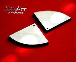 Materiál ručne robený - Trojuholníkové - 1329761