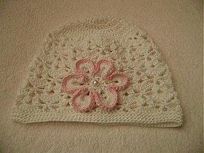 Detské čiapky - Háčkovaná čiapka - 1339547