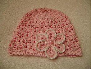 Detské čiapky - Háčkovaná čiapka - 1339565