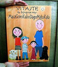 Tabuľky - obrázok na bránu...pre MacaMaca - 1342702