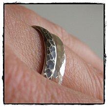 Prstene - leopard zo striebra - 134824