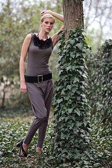 Nohavice - letní kalhoty Jumpkin - úpletové - 1351727