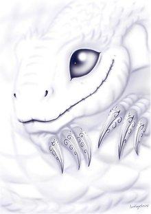 Grafika - Fantasy - print A4 (rôzne na výber) - 1351994