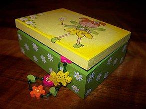Krabičky - Šperkovnica pre dievčatko - 1354125