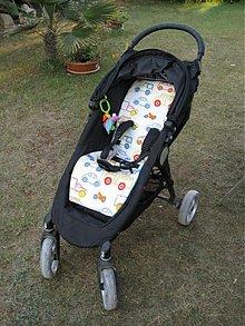Textil - Podložka do kočíka Baby Jogger - 1359763