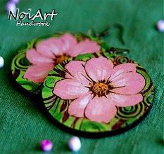 Náušnice - Už kvitnú... - 1363674