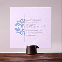 Papiernictvo - Svadobné oznámenie Evelyn - 1365240