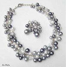 Sady šperkov - Perličková súprava - 1365257