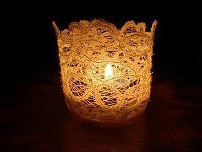 Svietidlá a sviečky - Tienidlo na sviečku 4 - 1372809