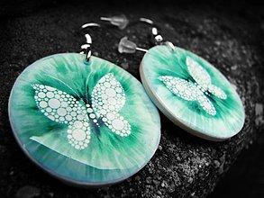 Náušnice - Motýlí Veracruz - 1374085