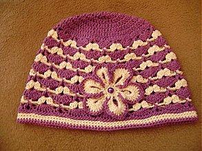 Detské čiapky - Háčkovaná čiapka - 1376516