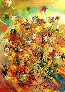 Obrazy - Poľné kvety (Field flowers) - 1379752