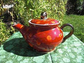 Nádoby - Čajníček ďobkatý - 1380708