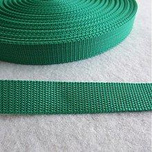 Galantéria - Popruh POP 25 mm zelený - 1380984