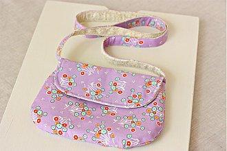Detské tašky - Fialková kabelka - 1383320