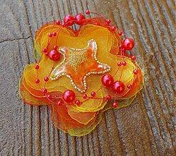 Odznaky/Brošne - Brošňa Slnko a hviezdy - darček k objednávke - 1392070