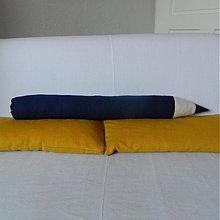 Hračky - Moja DRUHÁ CERUZKA NA SASHE Modrá ceruzka - 1392526