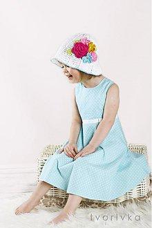 Detské čiapky - Rozkvitnutý - 1393029