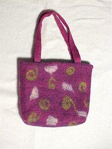 Kabelky - plstená taška - 1393240