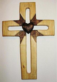 Dekorácie - svadobný kríž lúčový - 1393261