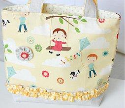 Detské tašky - Detský košík Poď si púšťať šarkana - 1396471