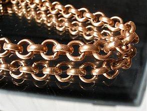 Šperky - reťaz medená - simple - 1402207