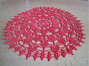 Úžitkový textil - Háčkovaný obrúsok 2 - 1408153