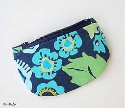 Peňaženky - Modrá peňaženka - 1410713