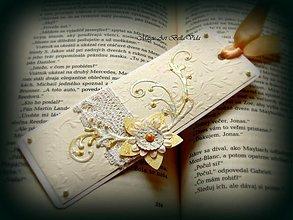 Papiernictvo - záložka ...Vôňa vanilky... - 1414150
