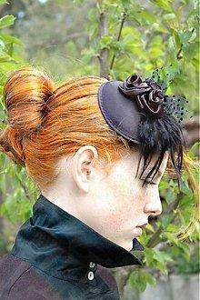 Ozdoby do vlasov - Black beauty by Hogo Fogo - 1416679