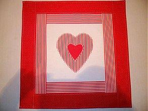 Úžitkový textil - obrúsok na stolík - 1424131