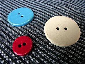 Materiál ručne robený - sada troch gombíkov - 1426610