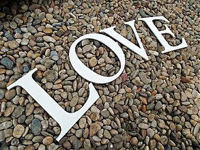 Tabuľky - 20*80cm LOVE - 1428258