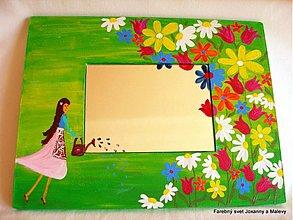 Zrkadlá - zrkadlo Moja rozkvitnutá záhrada - 1428658