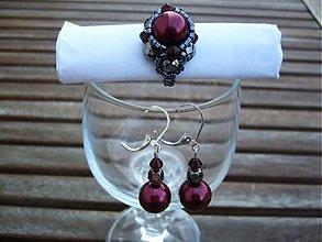 Sady šperkov - deep purple - 1430527