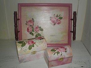 Dekorácie - Sada ružičky - 1431214