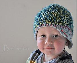 Detské čiapky - siltovka - 1431599