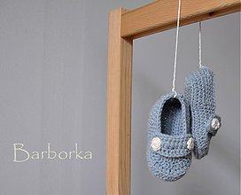 Topánočky - mokasiny - 1431704